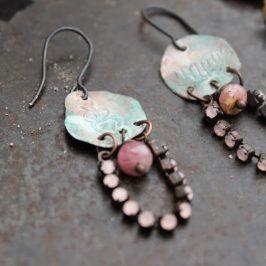 Kalliomaalauskorviksia – Rock painting earrings