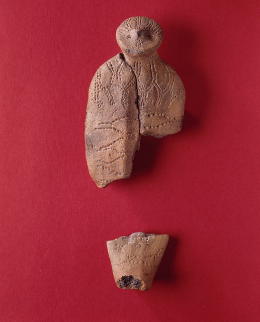 Clay figurine from Åland