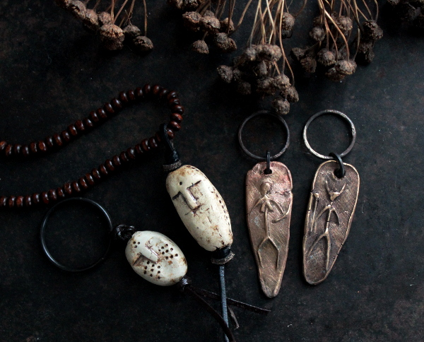 Stone Age inspired accessories